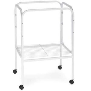 Bird Cage Stand W Shelf by Prevue 444 18X18 White