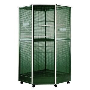 Indoor Aviary Corner Bird Cage AE 100G-1 Green Large