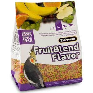 Zupreem Fruit Blend Cockatiel Avian Maintenance 2 lb (.907 kg)