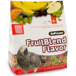 Zupreem Fruit Blend Parrot Conure Avian Maintenance 17.5 lb (7.94 kg)