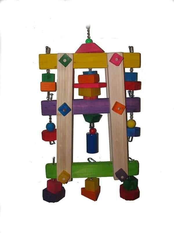 Might Bird really big Bell Tower bird toy