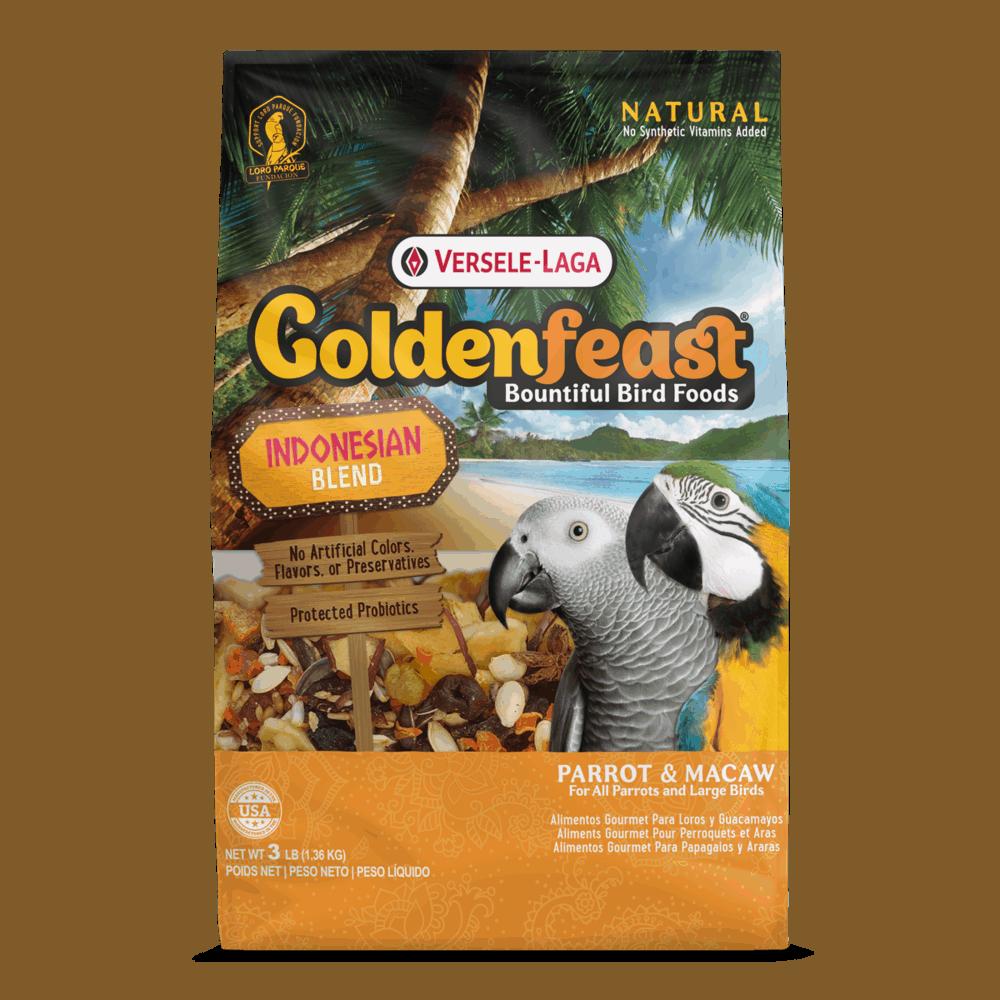 Goldenfeast Indonesian Blend (Hookbill) 3 lb