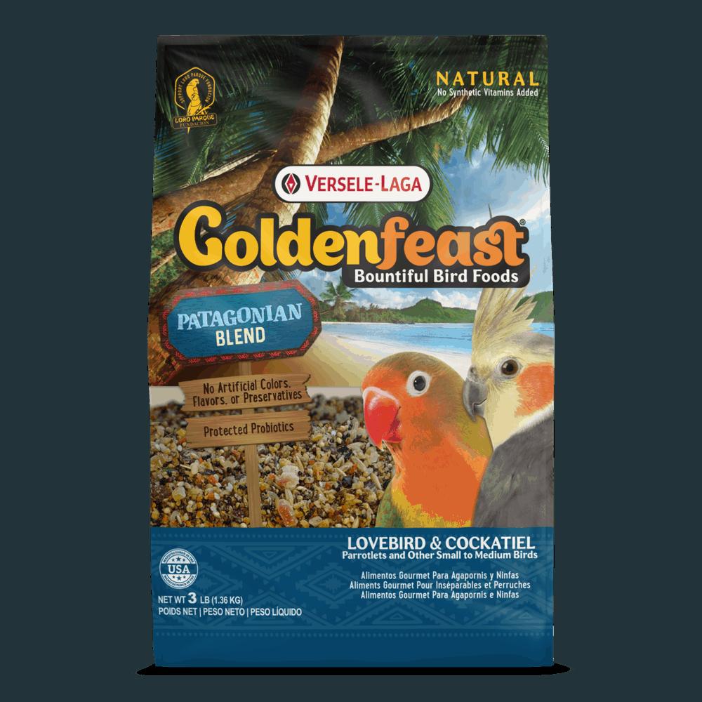 Goldenfeast Patagonian Blend (Petite Hookbill) 3 lb