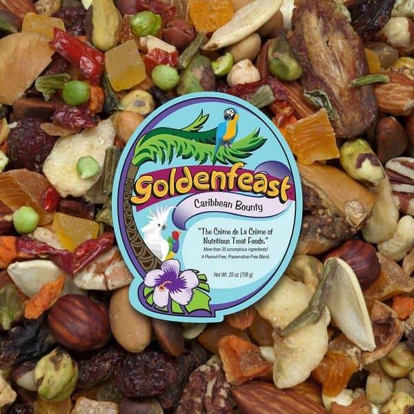 Goldenfeast Caribbean Bounty peanut free bird food