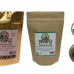 TOPs Bundle Box-Large Bird-Pellets-Bread Mix-Tesoro Treats