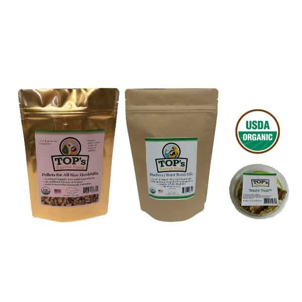 TOPs Medium Bird Bundle Box Of Pellets-Bread Mix-Tesoro Treats