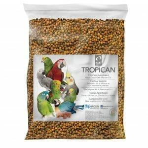 Tropican Lifetime Parrot Granules by Hagen Hari 8 lb (3.63 Kg)