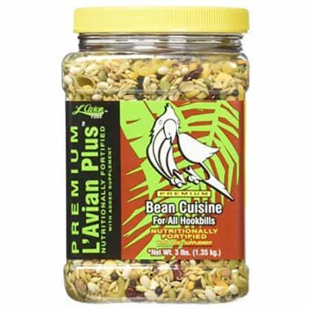 Lavian Bird Food Bean Cuisine Feeding Instructions