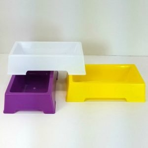 Food Water or Bird Bath Dish For Small Birds by Hagen Hari 1 pc