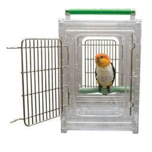 Caitec Perch & Go Carrier for Small & Medium Parrots 10×12
