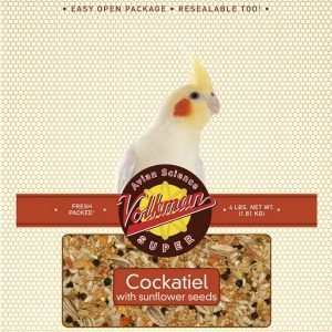 Volkman Avian Science Super Cockatiel Food 4 Lb (1.8 Kg)