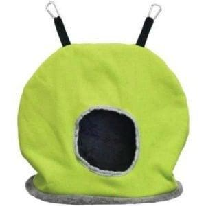 Warm Snuggle Sack for Birds 1165G Prevue Jumbo Green