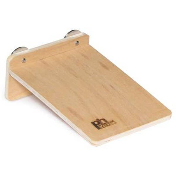 Flat Perch Wood Platform Shelf Birds Animals 3200 Small 8″