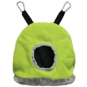 Warm Snuggle Sack for Birds 1168G Prevue Medium Green