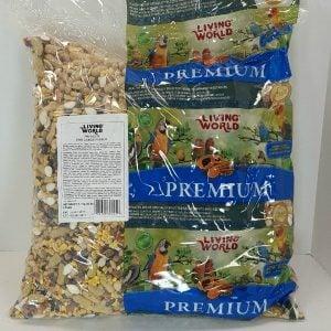Living World Premium Mix by Hagen Hari Large Parrot 20 lb