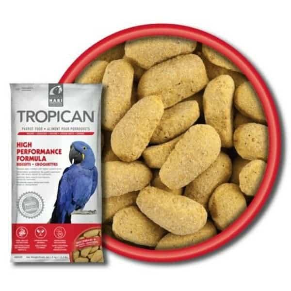 Tropican High Performance Parrot Biscuits by Hagen Hari 3.3 lb (1.5 Kg)