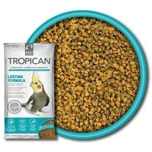 Tropican Lifetime Cockatiel Granules by Hagen Hari 1.8 lb