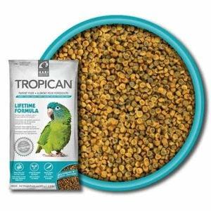 Tropican Lifetime Parrot Granules by Hagen Hari 1.8 lb (820 g)