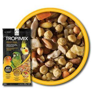 Tropimix No Shell Enrichment Formula by Hagen Hari Cockatiels And Lovebirds 2 lb