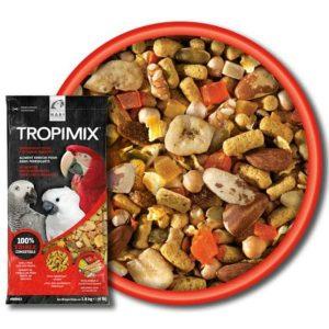 Tropimix No Shell Enrichment Formula by Hagen Hari Large Parrot 4 lb