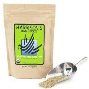 Harrisons Adult Lifetime Super Fine Organic Bird Food 1 lb