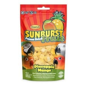 Higgins Sunburst Freeze Dried Fruit Pineapple Mango Treats .5 oz (14.2 g)