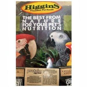 Higgins Protein Egg Food For All Birds 20 lb