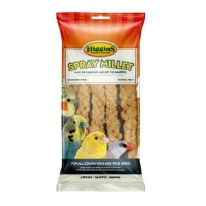 Higgins Naturally Grown Spray Millet for Birds 25 lb