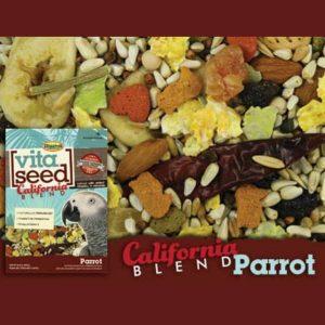 Higgins Vita California Blend Parrot No Sunflower 25 lb (11.34 Kg)