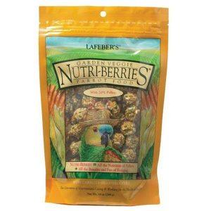 Lafebers Gourmet Garden Veggie Nutri-berries For Parrots 20 lb (9.09 Kg)