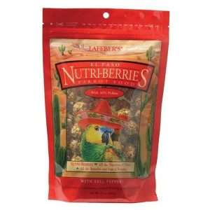 Lafebers Gourmet El Paso Nutri-berries For Parrots 20 lb (9.09 Kg)