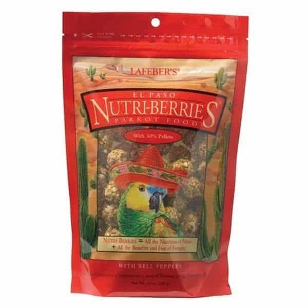 Lafebers gourmet el paso nutri berries for parrots 9. 09 kg 20 lb 3