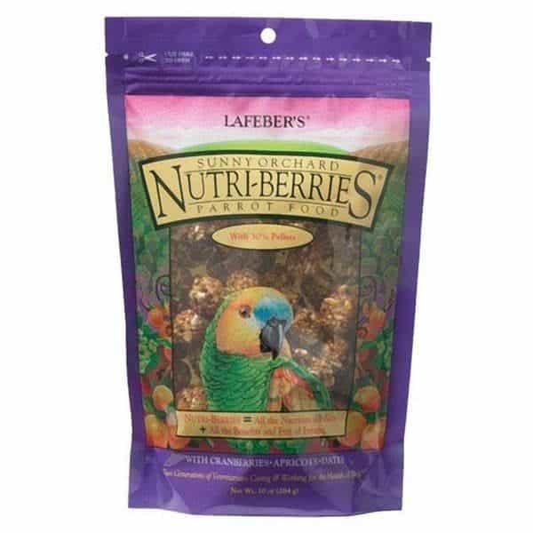 Lafebers gourmet sunny orchard nutri berries parrots 1. 36 kg 3 lb 2