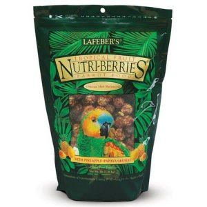 Lafebers Gourmet Tropical Fruit Nutri-berries Parrot 20 lb (9.09 kg)