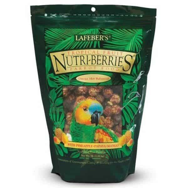 Lafebers gourmet tropical fruit nutri berries parrots 1. 36 kg 3 lb 2