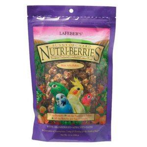 Lafebers Gourmet Sunny Orchard Nutri-berries Cockatiel 10 oz