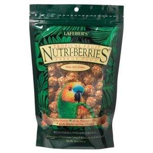Lafebers Gourmet Tropical Fruit Nutri-berries Parrot 10 oz (234 G)