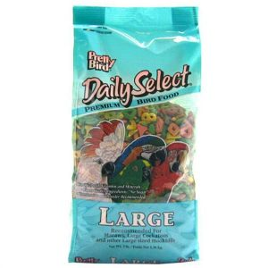 Pretty Bird Daily Select Large Parrot Bird Food Pellets 8 lb