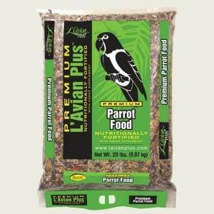 L'Avian Parrot Food Plus Premium Seed Mix 20 lb