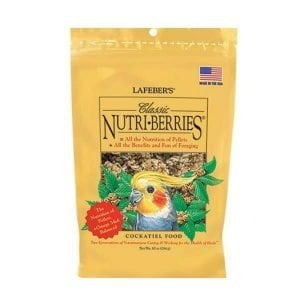 Lafebers Classic Cockatiel Nutri-berries 10 oz