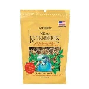 Lafebers Classic Parakeet Nutri-berries 10 oz (234 G)