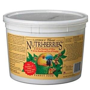 Lafebers Classic Parrot Nutri-berries 20 lb (9.09 Kg)