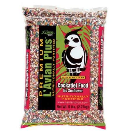 L'Avian Plus Premium Cockatiel Food No Sunflower