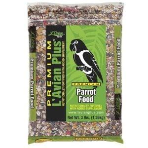 L'Avian Parrot Food Plus Premium Seed Mix 3 lb