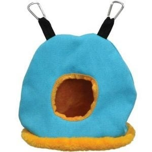 Warm Snuggle Sack for Birds 1168B Prevue Medium Blue