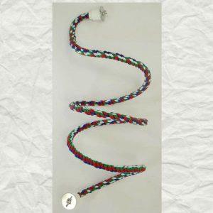 Bungee Flexible Rope Perch Happy Trails Bolt On Medium 72″