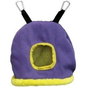 Warm Snuggle Sack for Birds 1168P Prevue Medium Purple
