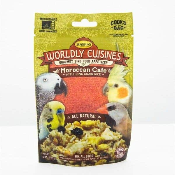Higgins Worldly Cuisines Moroccan Cafe Microwave In Bag 2 oz (57 G)