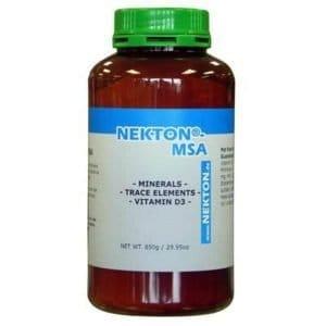 Nekton MSA Powder High-Grade Mineral Supplement 1000 g (2.20 lb)