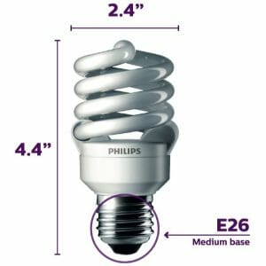 Full Spectrum Economy Daylight Bulb 100 Watt (uses 23W)